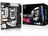 ASUS ROG Strix Z370-I Gaming Mainboard Sockel 1151 (Mini-ITX, Intel Z370, Coffeelake, 4X DDR4-Speicher, USB 3.1, M.2 Schnittstelle)