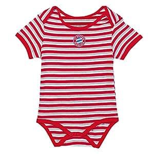 FC Bayern München Baby Body Logo Gr 74-80
