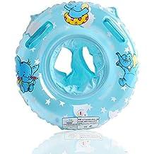 UClever Siège Gonflable Infant Bouée Sous Le Bras Anneau Bath avec Poignée Elephant Cartoon