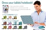 Skinzone GEN-TABEU-D Skin Aufkleber Sticker Design folie Decorative Aufkleber für Tablet oder Notebook (Voucher mit Einmalkode, Transportkosten im Preis) by