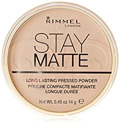 Rimmel London Stay Matte Pressed Powder, Sandstorm, 14g