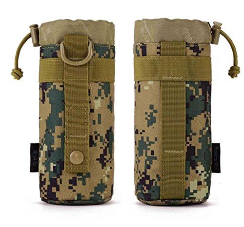 Protector Plus Kleine Kessel Tasche Outdoor Wasserkocher Set Taille hängenden Taktik Wasserkocher beigefügt Subunternehmer Tasche jungle