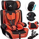 KIDIZ® Autokindersitz Kindersitz Kinderautositz | Autositz Sitzschale | 9 kg - 36 kg 1-12 Jahre | Gruppe 1/2 / 3 | universal | zugelassen nach ECE R44/04 | 6...
