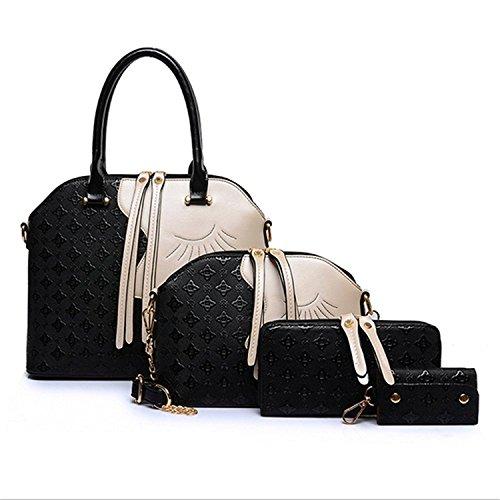 bagoddess belleza cara múltiples four-pieces bolso bolso crossbody bolsa de caso clave, color, talla talla única