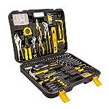 COOCHEER Werkzeugkoffer 212-teiliger Universal Handwerkzeug Werkzeug-Set Werkzeugkiste Werkzeugbox Komplett mit Werkzeug