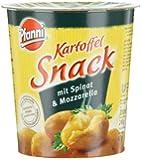 Pfanni Kartoffelsnack mit Spinat & Mozzarella, 4er-Pack (4 x 200 ml)