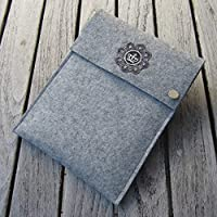 zigbaxx Tablet Hülle ROYAL Case Sleeve Filz u.a. für iPad 9.7, iPad Pro 9,7/10,5/11 Zoll (2018), iPad mini 2/3/4, iPad Air, 100% Wollfilz pink schwarz beige grau braun - Geschenk Weihnachten