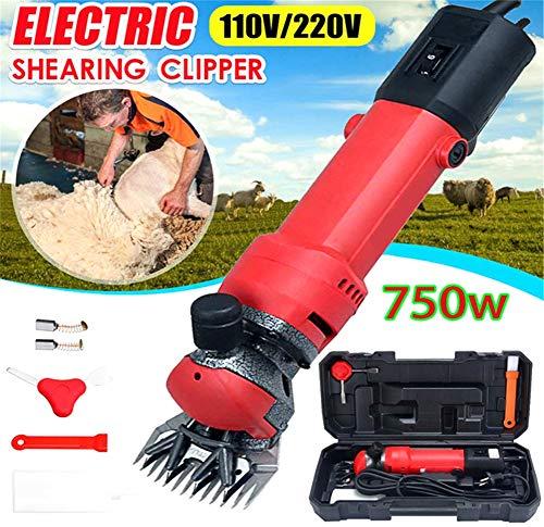 afschermaschine Schafe Schafschere Set Schermaschine Sheep Clipper für Schafe, 6 Gänge Geschwindigkeit 13 Zähne Klinge ()