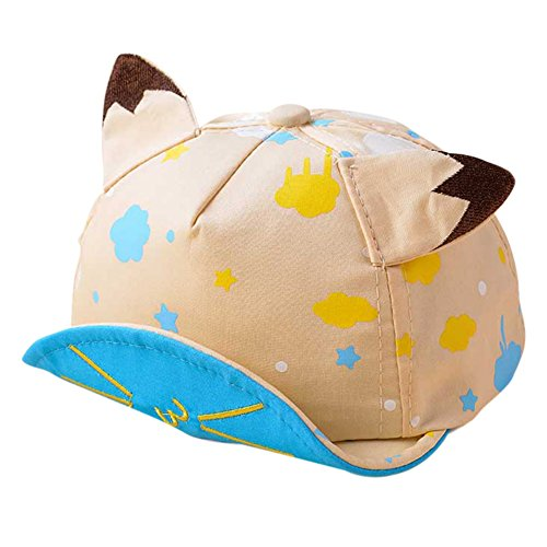 Loveble Infant Jungen Mädchen Sonnenhut Mode und Nette bunte Stickerei Cap Baseball Mütze Mütze (Caps Benutzerdefinierte Hüte,)