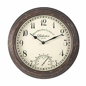 Smart garden 5060000 uhr bickerton wall clock 12 amazon - Qs gartendeko ...