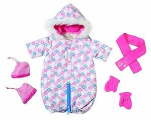 Baby Born – 816974 – Deluxe Winter Outfit Set – Combinaison 2 en 1 pour l'Hiver (Import UK)