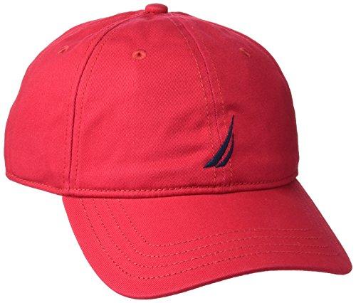 nautica-anchor-j-class-6-panel-cap-regular-fit-casquette-de-baseball-homme-rouge-pont-taille-fabrica