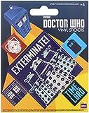 Doctor Who Sticker Set 10x12.5cm