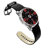 Lixada Business Sport Watch Amoled Touchscreen Smart Watch GPS Orologio Digitale da Polso Smart Pedometro Test di Frequenza Cardiaca Risposta Telefonica Messaggio Promemoria Riproduzione Musicale