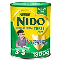 Nestlé NIDO Three Plus Growing Up Milk Powder Tin For Toddlers 3-5 Years, 1800g