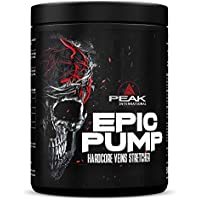 PEAK Epic Pump Fresh Berry 500g |Hardcore Booster | Extrem Pump | Pre Workout Booster | Trainings Booster | Fokus beim Training |