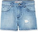 RED WAGON Mädchen Denim Shorts, Blau (Blue), 8 Jahre (Herstellergröße: 8)