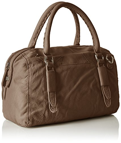 Liebeskind Berlin  Moya Ddoubl, Sac bowling pour femme Taille unique Braun (rhino Brown)