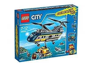 Lego - 66522 - Jeu de Construction - l'Hélicoptère de Haute-Mer