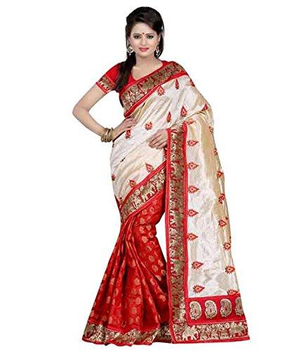 VINTAGE Girls cotton saree(VINTAGE O33_multi colour_Freesize)