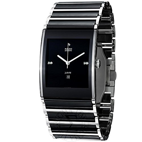 Rado Herren r20852702 Integral Analog Display Swiss Automatische schwarz Armbanduhr by RADO