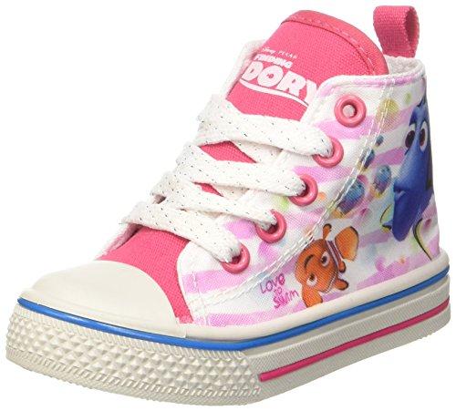 Walt Disney Baby Mädchen S17103gaz Krabbel-& Hausschuhe Rosa (Fuxia)