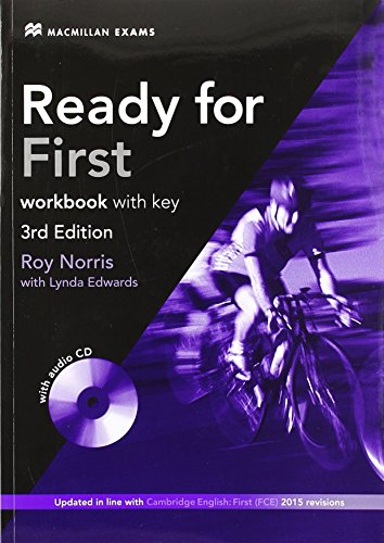 Ready for FCE Workbook (+ Key) + Audio CD Pack by Roy Norris (30-Oct-2013) Hardcover