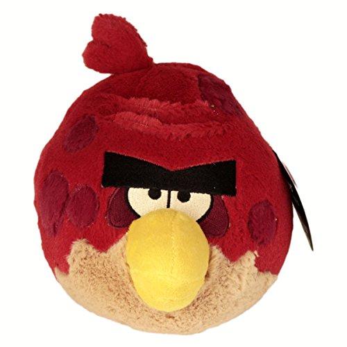 Angry Birds - Vogel rund rot mit Punkten ca 17cm