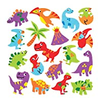 Dinosaur Foam Stickers (Pack of 120)