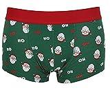 08495141784437 Mens 1 Coppia Natale Hipster Boxer Pantaloncini Novità Regalo Di Natale - Babbo  Natale, X