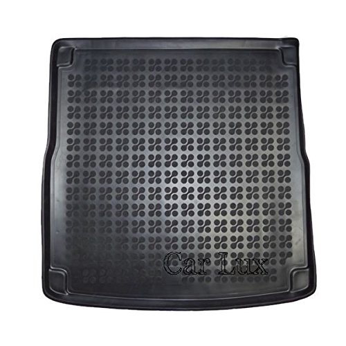 Car Lux AR02053 - Alfombra Cubeta Protector cubre maletero de goma y enrollable PREMIUM