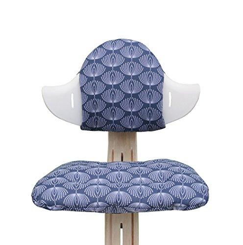 Blausberg Baby - Sitzkissen Set für Nomi Hochstuhl - Fountain blau