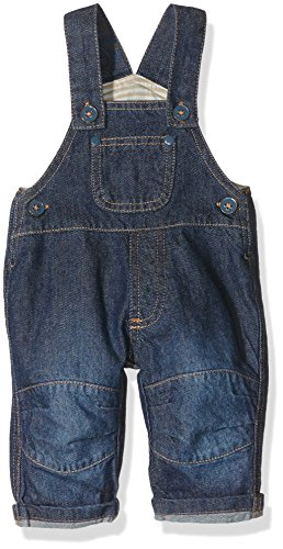 Twins Unisex Baby Latzhosen, Blau (Denim Blue 5001), 80