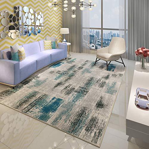 JTDD Wohnzimmer Teppiche Boden Teppich für Schlafzimmer-Foyer-Esszimmer Zimmer-Bett Zimmer (leicht zu waschen)