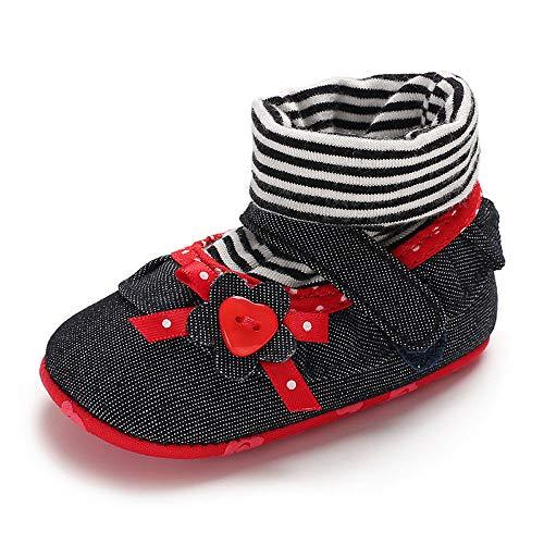 2018 New Toddler Shoes,Innerternet Newborn Baby Cartoon Crib Winter Boots Prewalker Warm Shoes for 0-18 Months