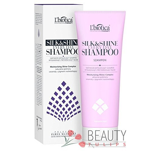 L'Biotica Pro Everyday Shampoo Silk&Shine 250ml