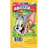 Tarjeta Felicitación cumpleaños Warner Bros Tom y Jerry la nostra Amistad