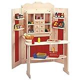 Kombi Kaufladen-Theater * Geschenk für Kinder * Grösse:85 x 85 x 125 cm