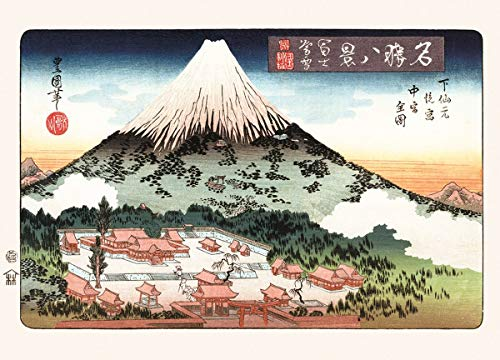 Unbekannt k841050Utagawa toyok Uni II de impresión Evening Snow