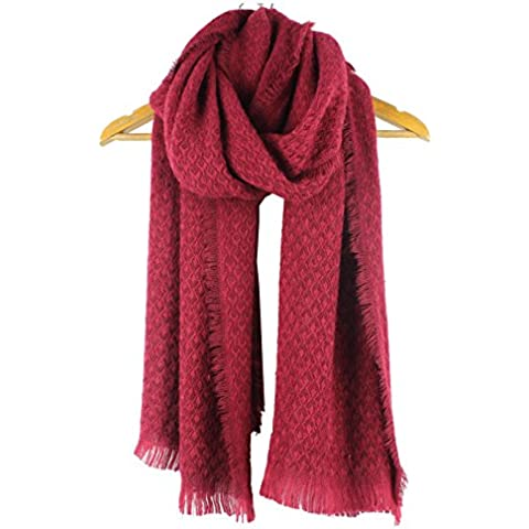 BAI-Donne inverno Elegante sciarpa ultra-morbida Sciarpa Sciarpa monocromatica
