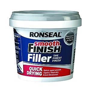 Ronseal 36553 - Stucco riempitivo, ad asciugatura rapida per riempimento, pronto da usare, colore: bianco 51qSErH2XmL. SS300