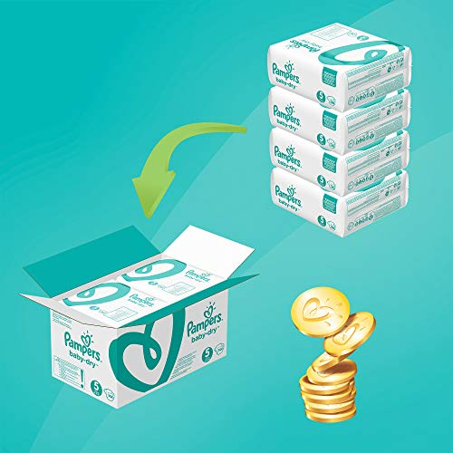 Pampers Baby Dry Gr.5 Junior 11-23kg MonatsBox - 6