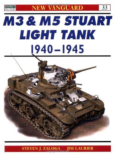 M3 & M5 Stuart Light Tank 1940-45 (New Vanguard)