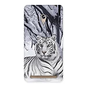 Snow Tiger Back Case Cover for Zenfone 6