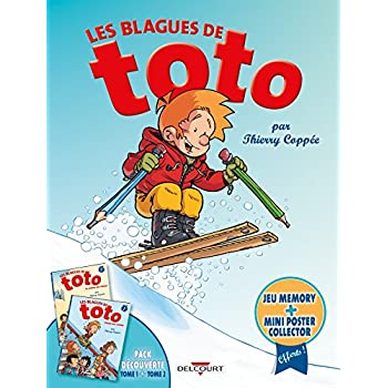 Les Blagues de Toto - Fourreau T1+T2