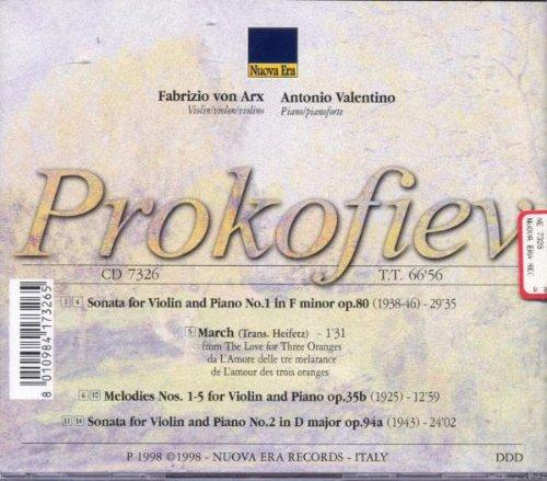 Sonate für Violine und Klavier 1