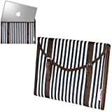 Navitech Toile Style Tissu Laptop Sleeve Sac Housse Pour NEW Alienware 15 / Dell Inspiron 14 3000 Series / Dell Inspiron 15 3000 Series