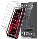 LK Pellicola Protettiva per Xiaomi Mi 9T / Mi 9T PRO Vetro Temperato,[3-Pezzi] [9H Durezza] Protezione Schermo Screen Protector [Strumento per Una Facile Installazione] [Alta Trasparente]