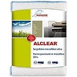 ALCLEAR 950009 Serpillière Microfibre Ultra, Blanc, 60x40 cm