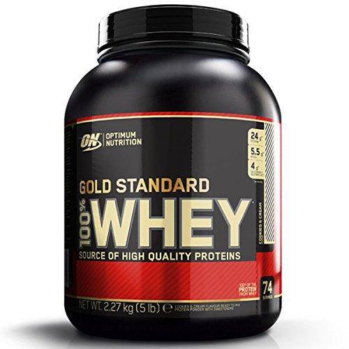 Optimum Nutrition Gold Standard 100% Whey 2270 g Caramel Toffee -- mikrogefiltertes Molke-Protein Isolat Pulver